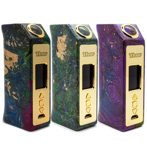 Ultroner x Asmodus Thor DNA75C Stabilized Wood Box Mod