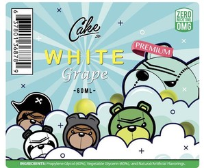 <Cake Vapors> White Grape 60ml