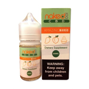 <NAKED CBD>Amazing Mango 30ml 600mg