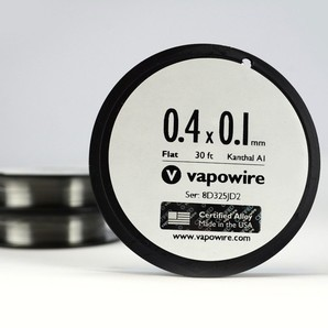 <VapoWire> Kanthal A1フラット 30ft